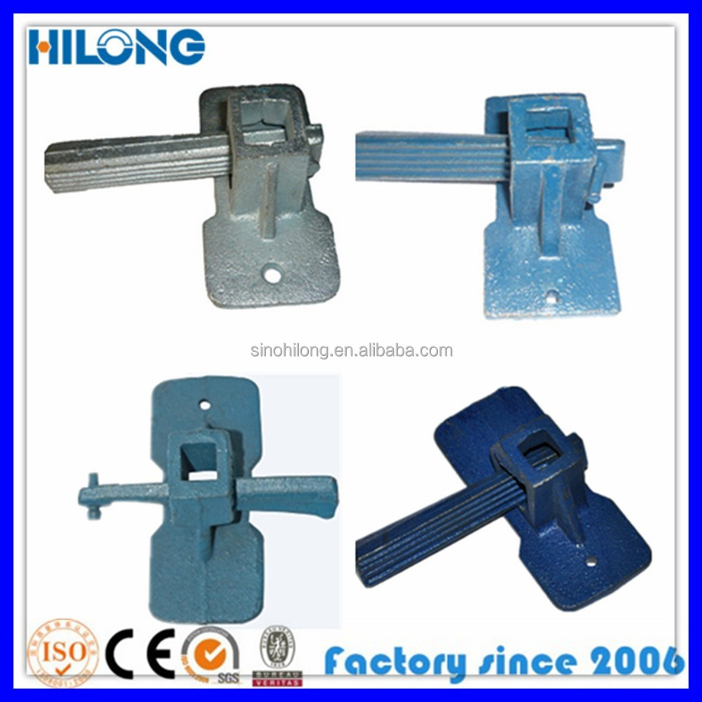 Formwork wedge clamps, rapid clamp, materi de construccion