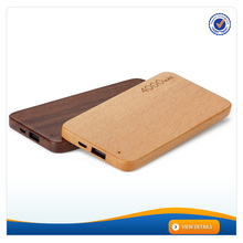 AWC619 4000mah multi cell phone Wooden charger universal portable cell phone charger