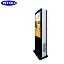 Hot sale 49 55 65inch touch screen kiosk digital signage outdoor lcd advertising display with wifi 3g network