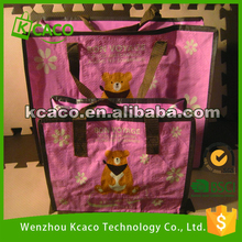 Cheap and top quality cute little bear non woven bag shopping bag