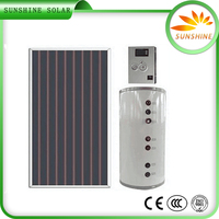 Hot Sale Unpressurized Rooftop Home Solar Systems Solar Water Heating Panel Price