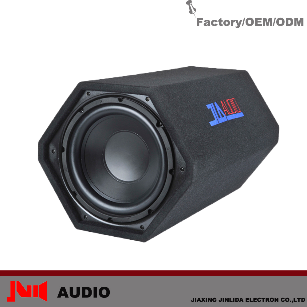 High Performance 660x420x360mm 150w Ported 12inch passive car subwoofer tube