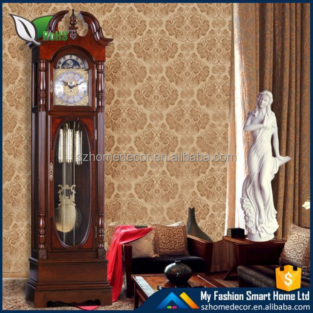 Woodpecker pendulum clock standing clock antique grandfather clock