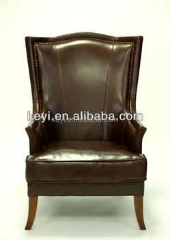 High quality new design leather material high back living room chair /office chair(KS-957)