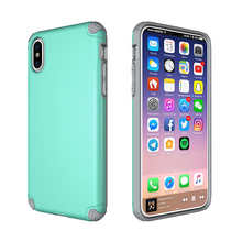2017 New Products Factory Wholesale Mobile Phone Accessories Slim Hybrid Cover For iPhone X Magnetic Car Holder Case