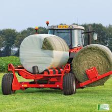 Agriculture Grass Baler PE High quality silted stretch film silage