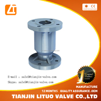 Factory supply directly API 6D Duplex SS Axial Flow Check Valve Manufacturer