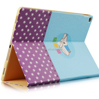 Painting Colorful case cover for microsoft surface tablet, flip flip case for ipad pro