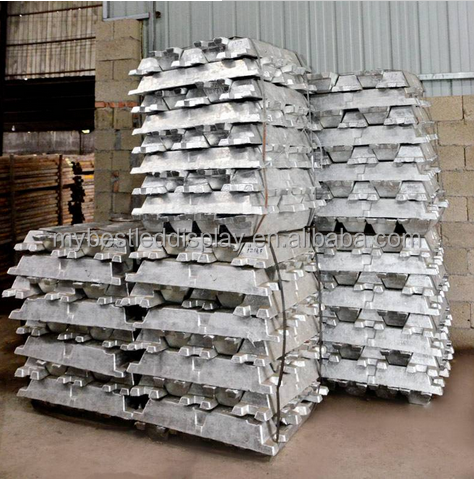 2017 high purity cheap primary aluminum ingot 99.7 for sale