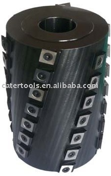Shear Cut Spiral Cutter head
