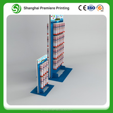 Toothbrush Products Paper Display Stand with 15cm hooks