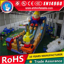 Commercial gaint jumping castles inflatable water slide for sale