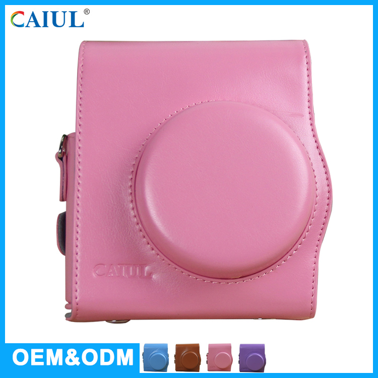 CAIUL OEM ODM Ladies Girls Pink Camera Bag For Mini 8 / 8+ Instant Camera