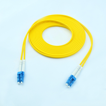 FTTH cabling 10G 1310nm 3.0mm LC-LC OM3 G652D telecom Optic Fiber Jumper