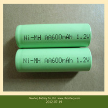 Manufacturer High Capacity Rechargeable aa 1600mah 1.2v nimh battery aa 1600mah 1.2v nimh battery/cell for vacuum cleaner,light