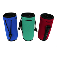 Colorful new style neoprene water bottle sleeve