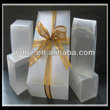 popular decoration black wedding packaging boxes