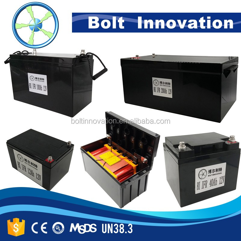 Factory price Lithium iron phosphate 12v 20ah battery