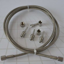 stainless steel braided hose for oil, gas and chemical industry