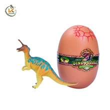 2017 New DIY Game Kids Toy Raptor Dino Dinosaur Egg with Toys Inside