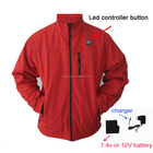 hot sales rechargeable softshell battery heated jacket