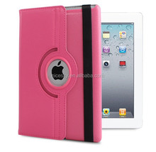 Slim Pu Leather 360 Degree Rotating Case Cover Stand For New IPad Mini Case Tablet Case Free Shipping