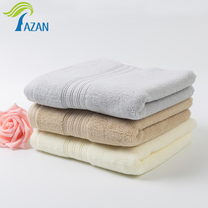 China Supplier High quality plain dyed 100% cotton 5 star hotel face towel