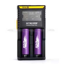 In stock Newest Arrival lcd Nitecore D2 charger IMR/Lifepo4/NiMh/NiCd AA AAA battery charger nitecore charger