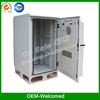 outdoor telecom cabinet rack enclosure with heat exchanger ip55