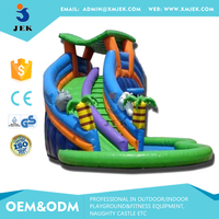 Bouncy Castle Games Children's Inflatable Playground Slide