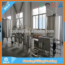 ultrafiltration mineral water system