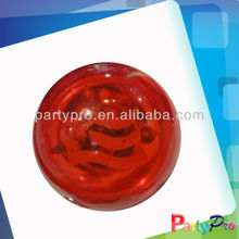 rubber bouncing ball with flashing light