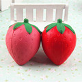 Wholesale PU Cute Squishy Strawberry Toy