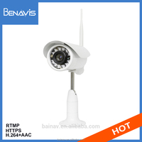 Ip Cctv Gun Shape Auto Focus Ip69 Outdoor Wireless Webcam