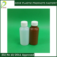 60ml plastic bottle 60ml maple syrup bottle for liquid sleeping medicine