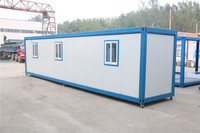 effective recycled shipping steel frame 20ft porta cabins