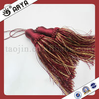 simple and small indian tassels for curtain or other decoration