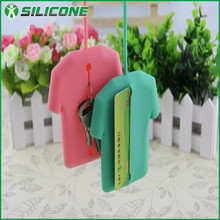 Alibaba china hot sale silicone key pouch ,card holder wallet,memory card case
