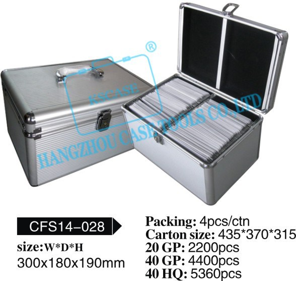 Aluminum CD case ,CD case,CD carrying case