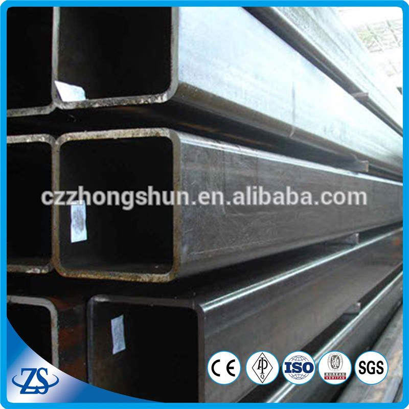 square rectangular steel piping