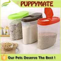 wholesale dog food storage container high quality 2016 newest pet feeder container