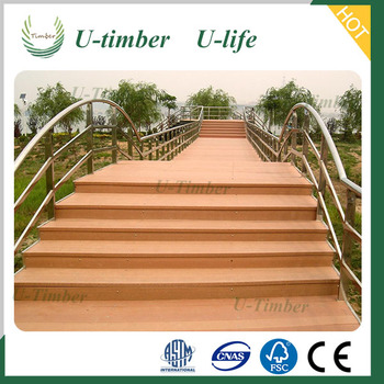 wpc outdoor decking floor wood plastic composite decking