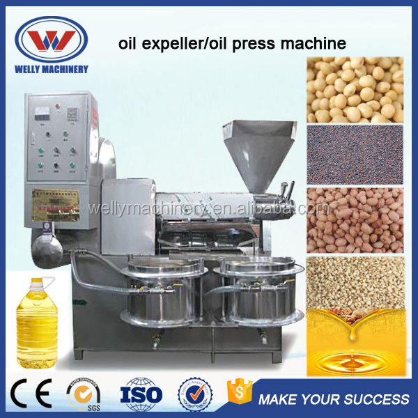Full Automatic cold press oil extraction machine