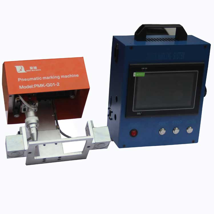 ZIXU Industrial Handheld Dot Portable Marking Machine For Steel