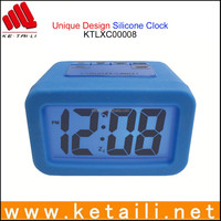 Custom Design Silicone Table Clock Desk Clock Alarm Clock