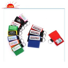 Chinese supplier cheap price mini first aid kit key chain disposable CPR face shield CPR breathing barrier face shield
