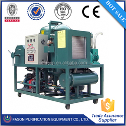 95% high oil output No pollution waste black engine oil recycling plant with CE