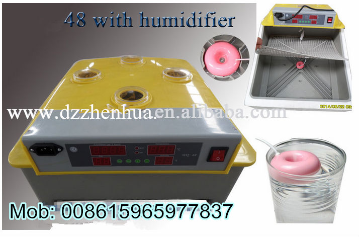 incubator 48 with humidifier/mini incubator 48 eggs for sale with best price ( lydia chang: 0086.15965977837)
