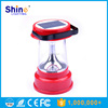 3w solar portable camping lantern with 6 led with lphone charger,solar led rechargeable lantern