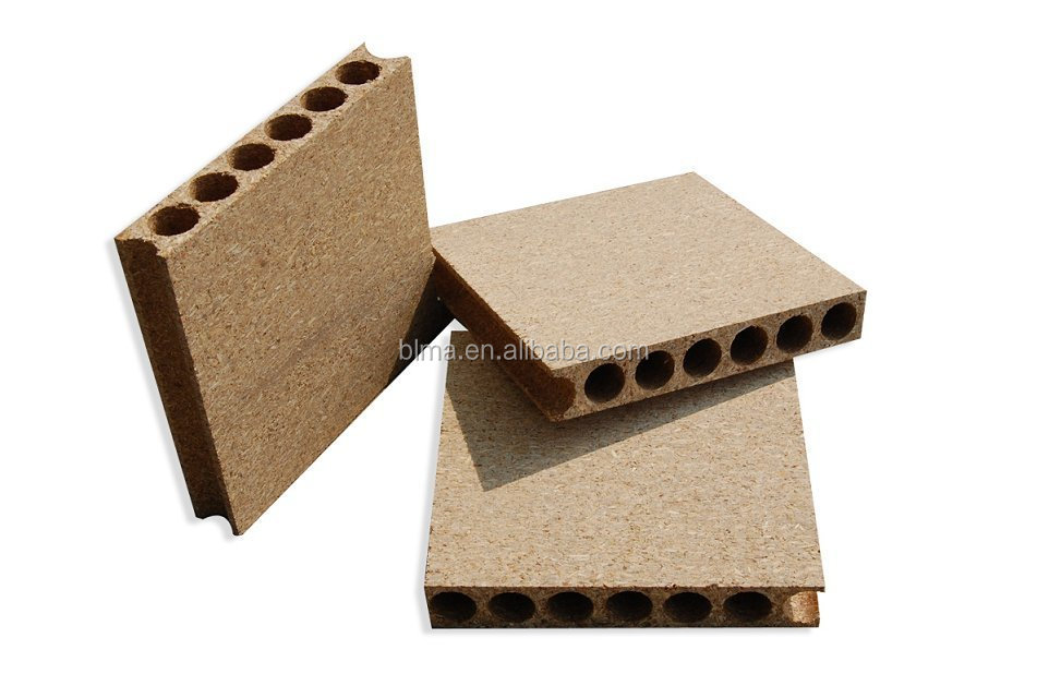 hollow particleboards 33mm 38mm